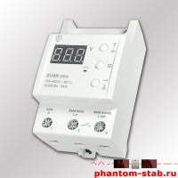 Реле напряжения с термозащитой ZUBR D63t