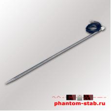 Датчик температуры DS18B20 в игле 300 мм трехпроводный